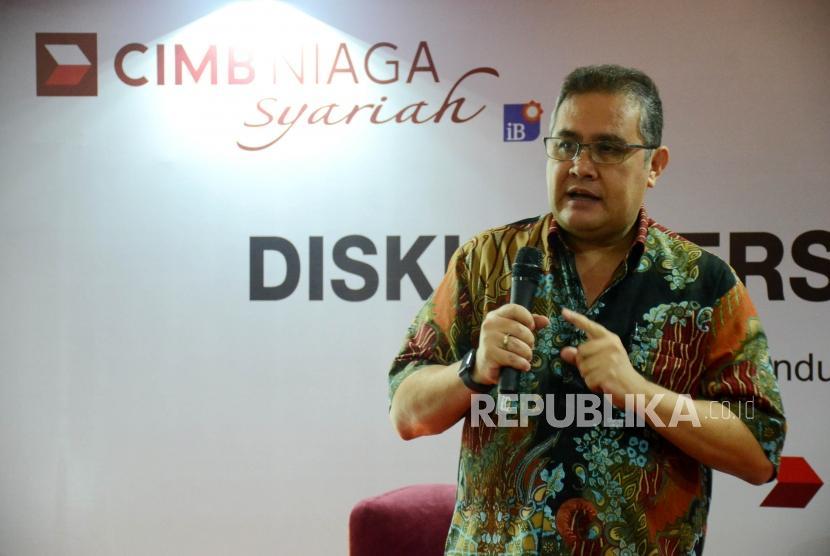 Direktur Syariah Banking CIMB Niaga Pandji P Djajanegara.