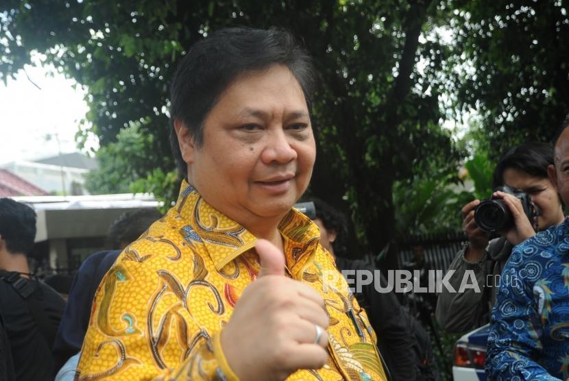 Ketua umum Partai Golkar Airlangga Hartarto.