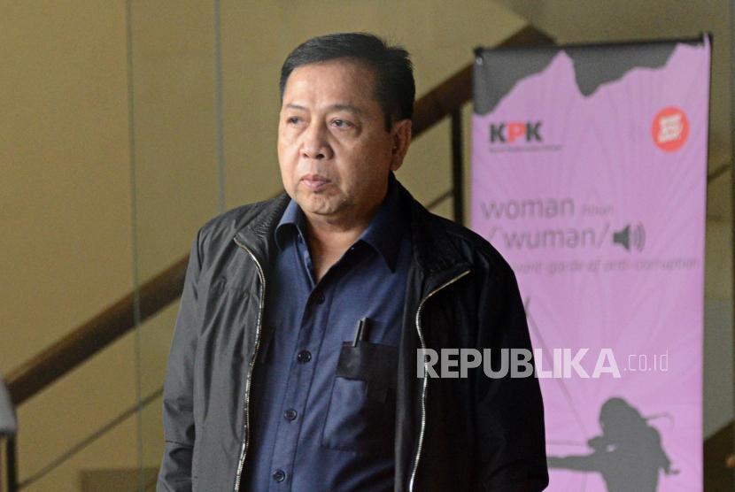 Mantan Ketua DPR Setya Novanto.