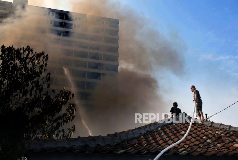 Kebakaran Gedung Kemenhub