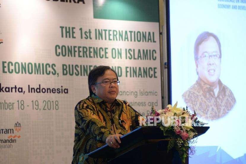 Menteri Perencanaan Pembangunan Nasional (PPN)/Kepala Bappenas Bambang Brodjonegoro.