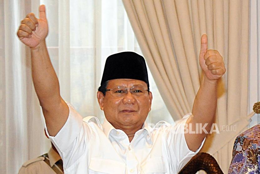 Gerindra general chairman Prabowo Subianto