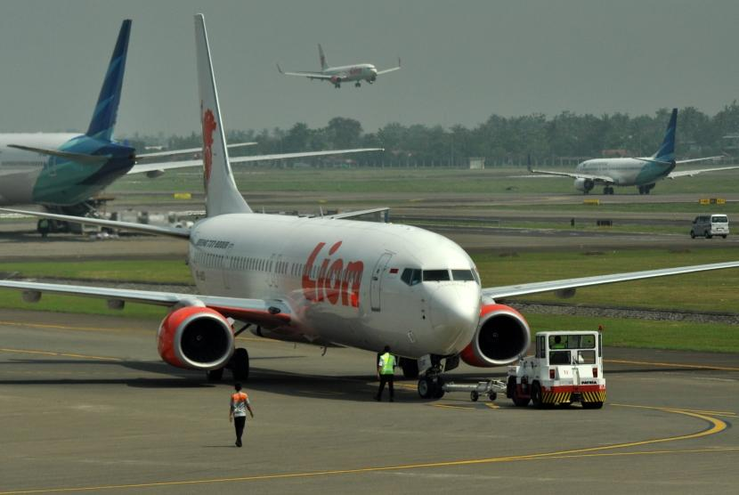 Pesawat milik maskapai Lion Air
