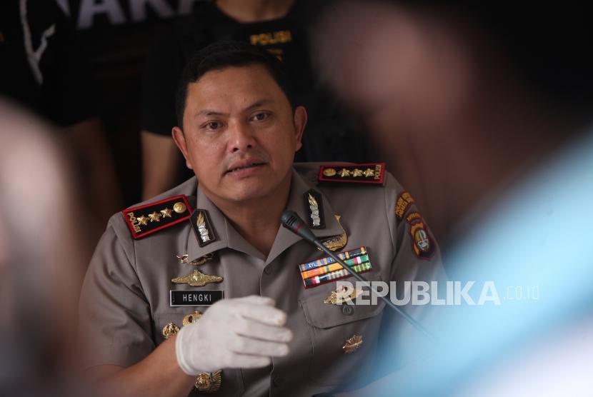 Kapolres Metro Jakarta Barat Kombes Hengki Haryadi
