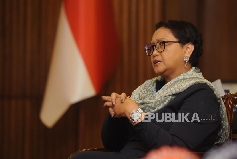 Indonesian Foreign Affairs Minister Retno Marsudi