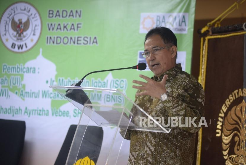 Rektor UI Muhammad Anis.