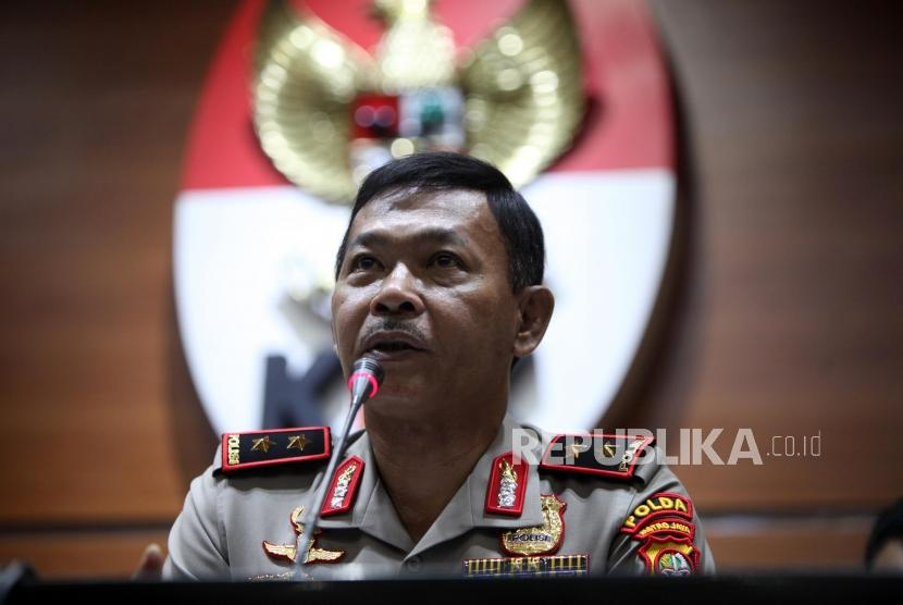 Chief Inspector of the Jakarta Police General Idham Azis