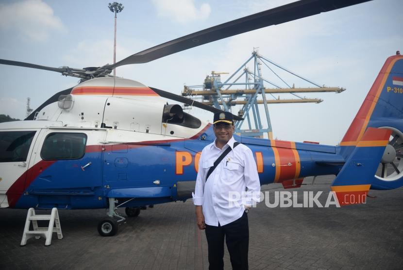 Transportation Minister Budi Karya Sumadi visits Merak seaport crossing, Banten and then inspects Bakauheni port in Lampung province, Monday (June 11).