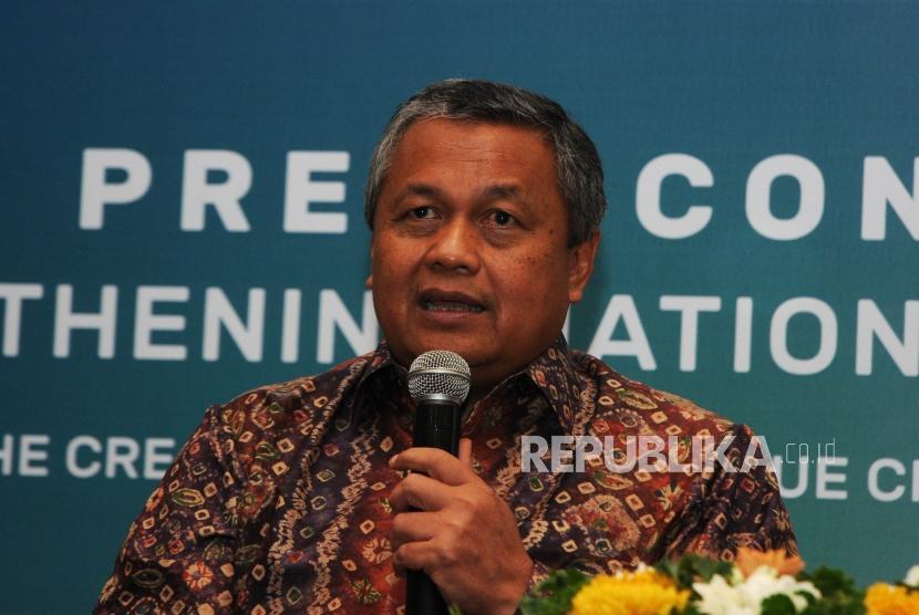Bank Indonesia's Governor Perry Warjiyo