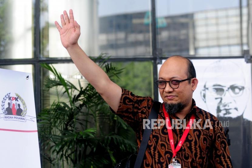 Senior investigator of Corruption Eradication Commission (KPK) Novel Baswedan