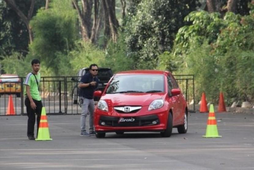 New Honda Brio dan Brio Satya Unjuk Performa Kepada Jurnalis