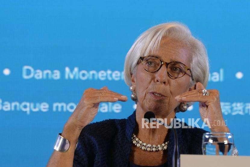 Direktur Pelaksana Dana Moneter Internasional (IMF) Christine Lagarde.