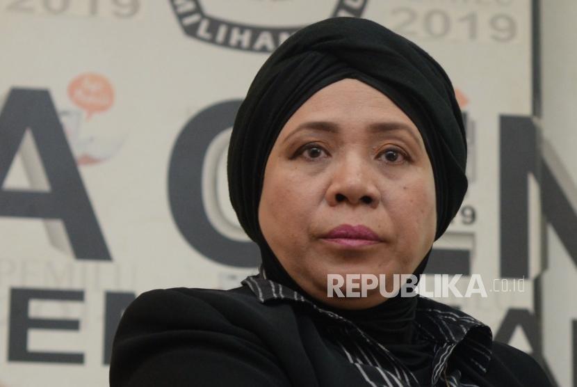 Juru Bicara Tim Kampanye Nasional (TKN) Jokowi-Ma'ruf Lena Maryana Mukti.
