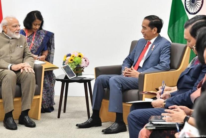 Bertemu dengan Pemimpin dari India, Arab Saudi, Australia dan Turki di KTT G20, Ini yang Dibahas Presiden Jokowi