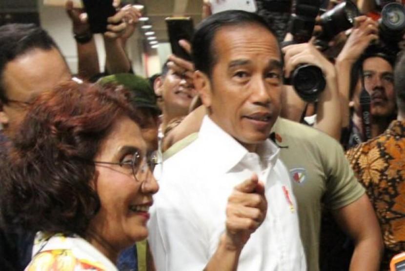 UMKM Indonesia Bisa Mendunia, Jokowi: Asal Jangan.... (FOTO: Sufri Yuliardi)