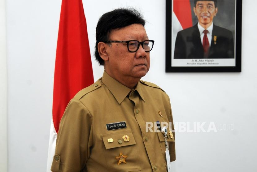 Home Affairs Minister Tjahjo Kumolo