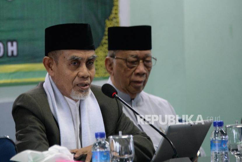 KH Hasan Abdullah Sahal, a member of the Indonesian Ulema Council's advisory body