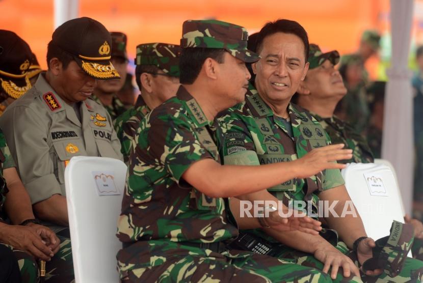 Kepala Staf Angkatan Darat (KSAD) Jenderal Andika Perkasa
