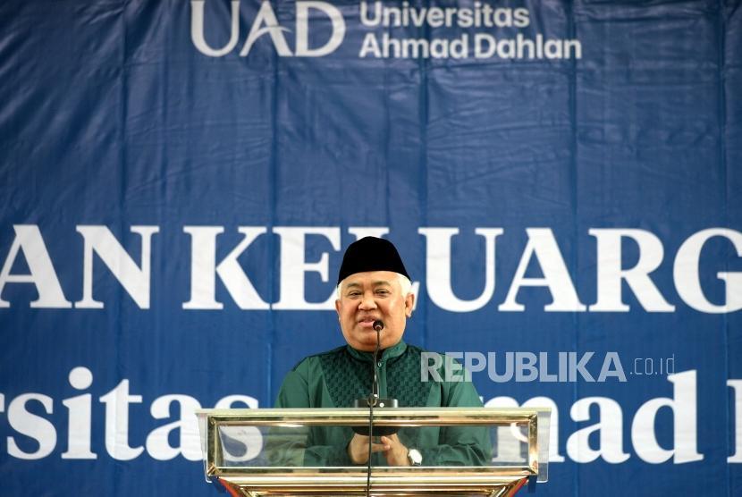 Tokoh Muhammadiyah Din Syamsuddin