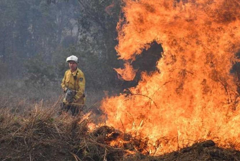 Belajar Cara Australia Atasi Kebakaran Hutan Tanpa Air Republika Online