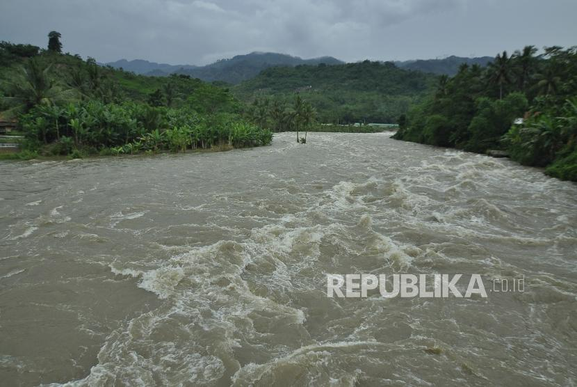 Arus sungai. (Ilustrasi)