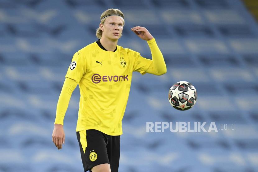 Erling Haaland dari Dortmund