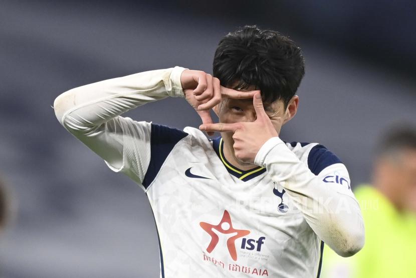 Gelandang serang Tottenham Hotspur, Son Heung-min.