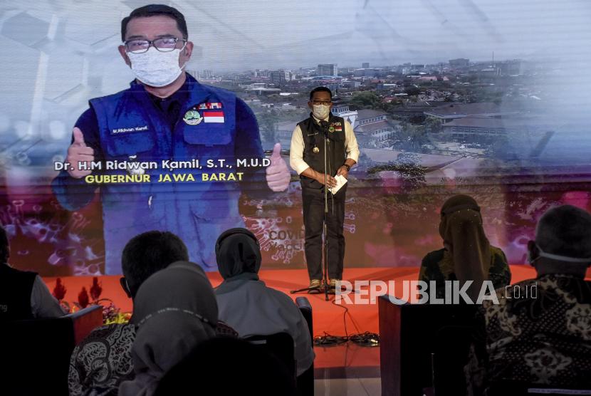 Gubernur Jawa Barat (Jabar) M Ridwan Kamiil.