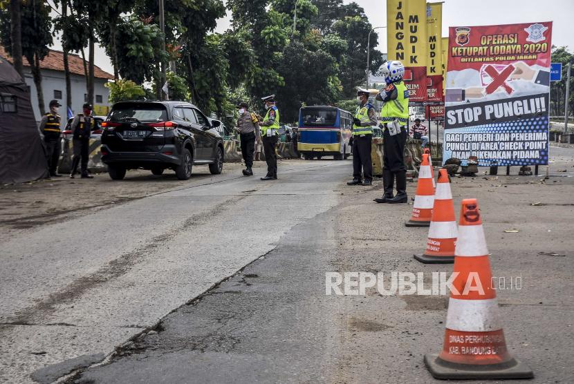 Bandung Mulai Penyekatan Usai Ada Larangan Mudik Terbaru (ilustrasi).