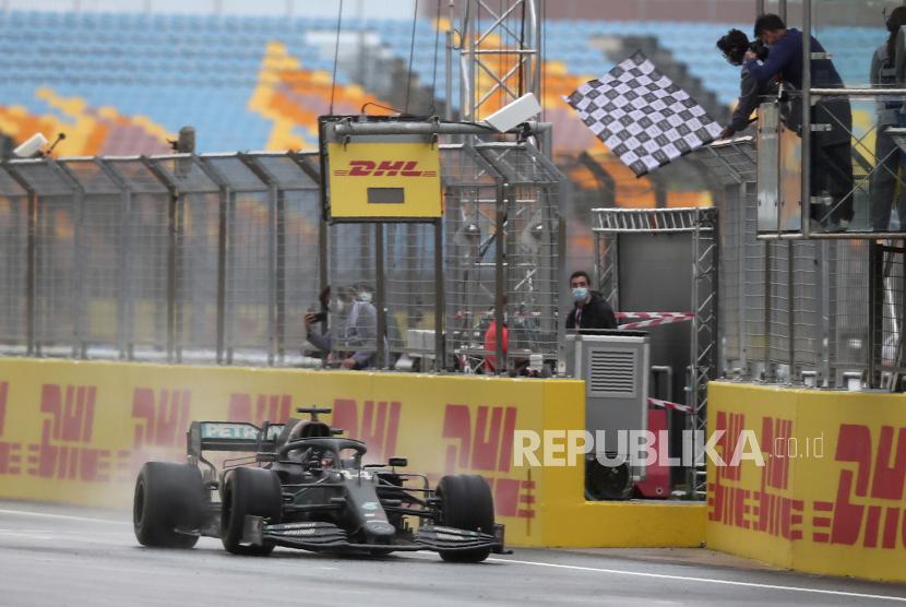 Grand Prix Turki. Formula 1 pada Jumat (14/5) kembali merombak kalender musim 2021.
