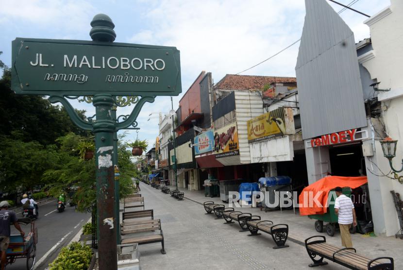 Kawasan Malioboro, Yogyakarta.
