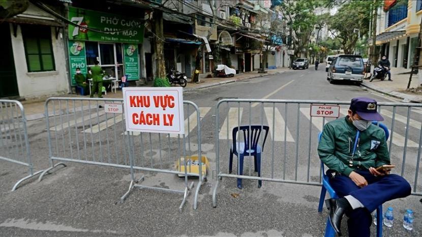 Vietnam melaporkan 3.201 kasus baru Covid-19 pada Senin pagi (2/8).