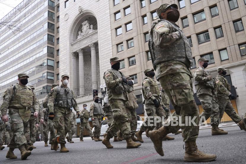 Pelantikan Biden, 200 Personel Garda Nasional Positif Covid