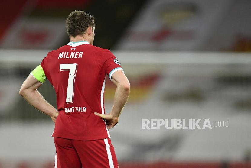 Gelandang Liverpool, James Milner.