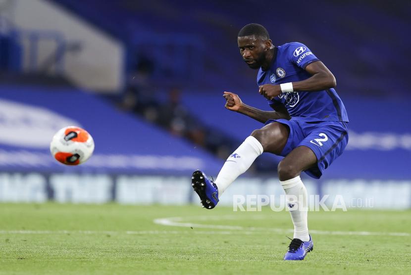 Everton Gagal Boyong Rudiger dari Chelsea