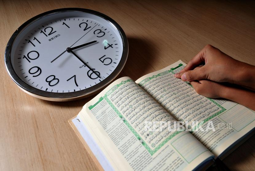 Mengatasi Kecemasan yang Muncul Saat Ramadhan. Ilustrasi Berpuasa
