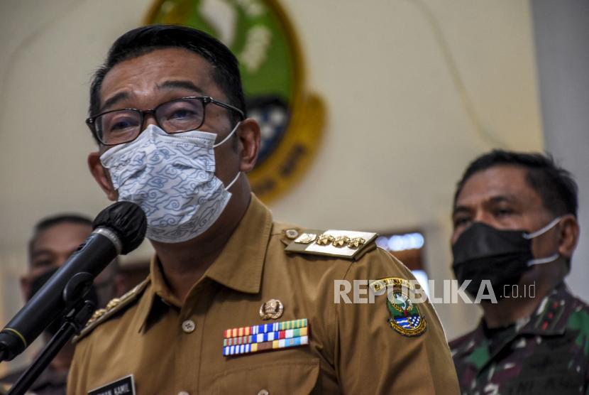Gubernur Jawa Barat (Jabar), M Ridwan Kamil.