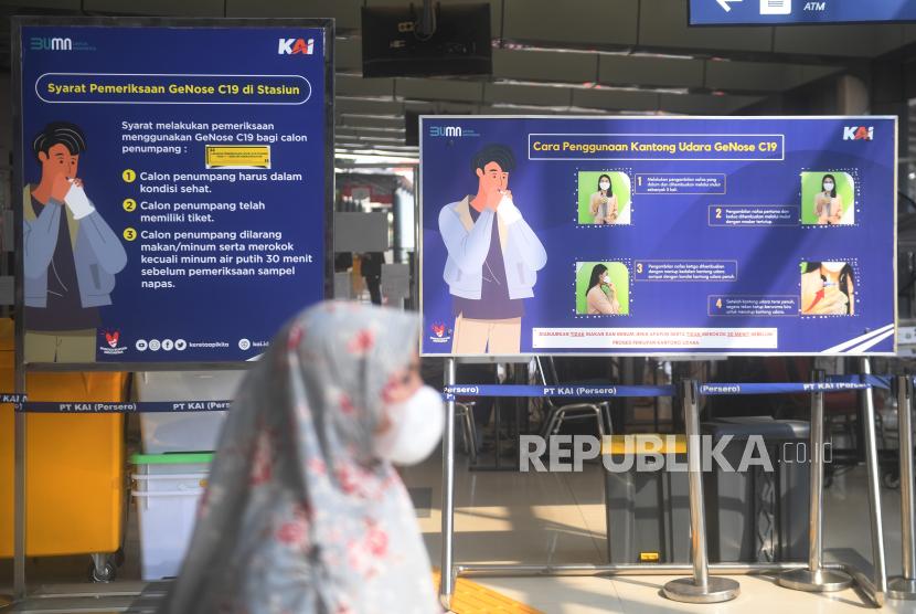 Jam Operasional Test Antigen di Stasiun Cirebon Diperpanjang (ilustrasi).