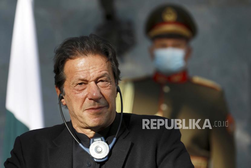 Perdana Menteri Pakistan Imran Khan.