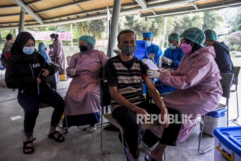 Bantul Fokuskan Vaksinasi Masyarakat Desa dan Dusun (ilustrasi).