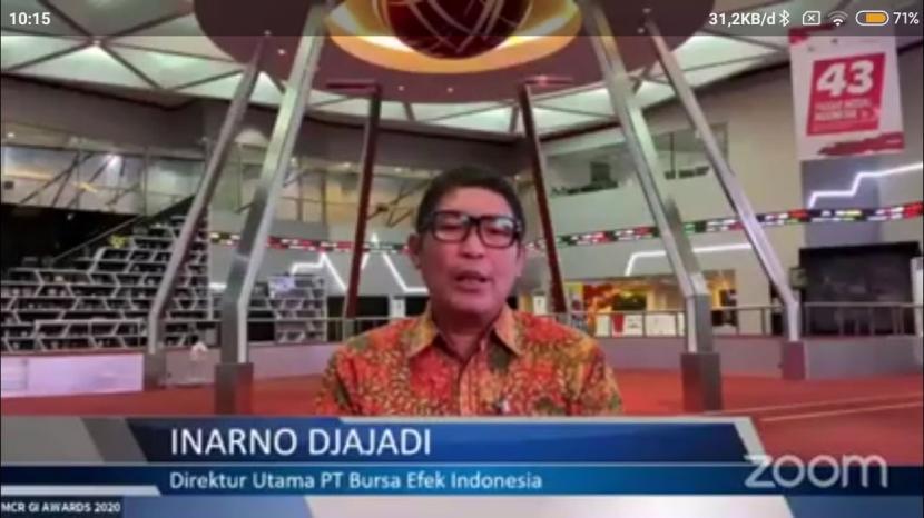Inarno Djajadi, Direktur Utama PT Bursa Efek Jakarta