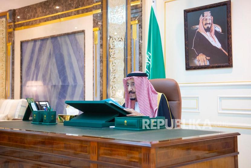 Saudi Dukung Upaya Internasional Cegah Iran Perkuat Nuklir. Raja Saudi Salman bin Abdulaziz Al Saud.