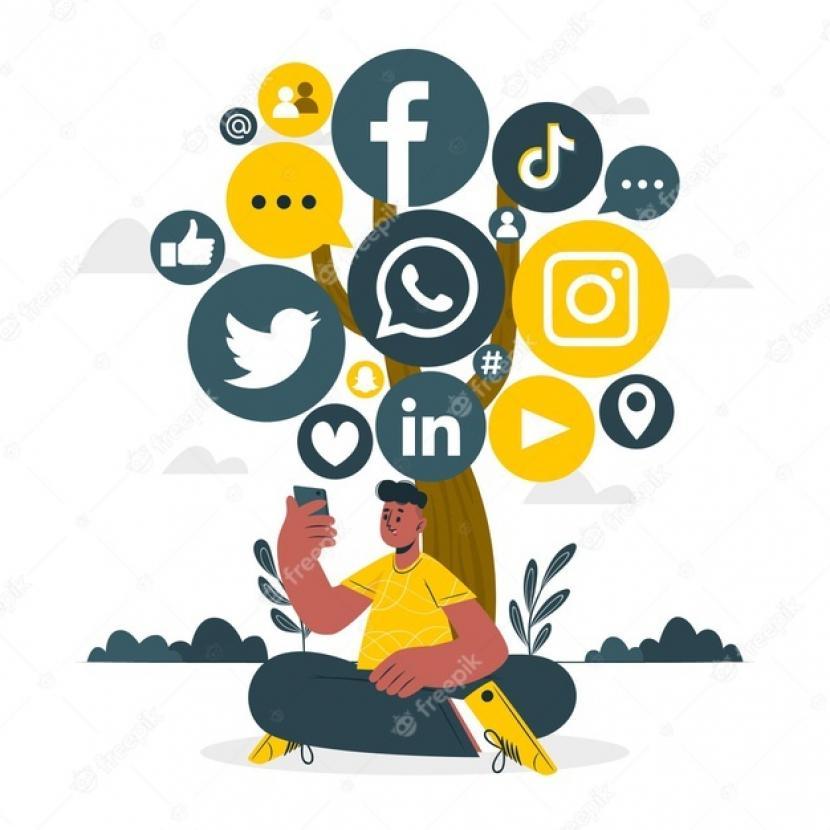 Media Sosial memiliki dua ujung pisau yang berbeda