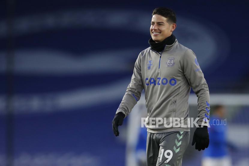 James Rodriguez meninggalkan Everton menuju klub Qatar Al-Rayyan.