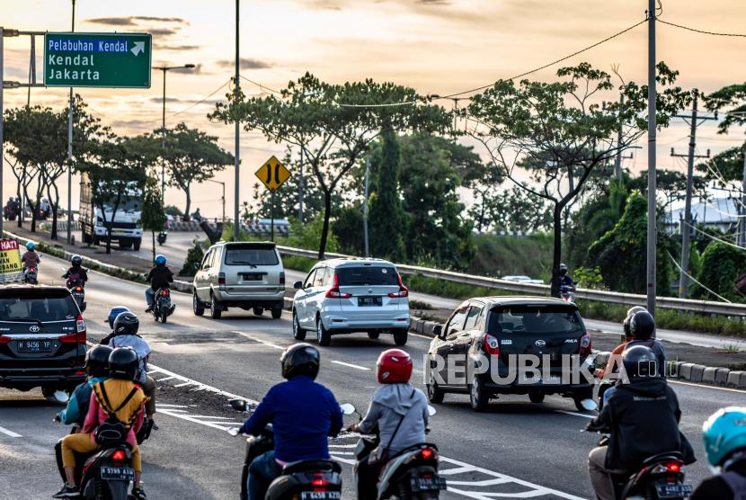 Jumat Catat Lonjakan Tertinggi Motor di Jalur Semarang (ilustrasi).