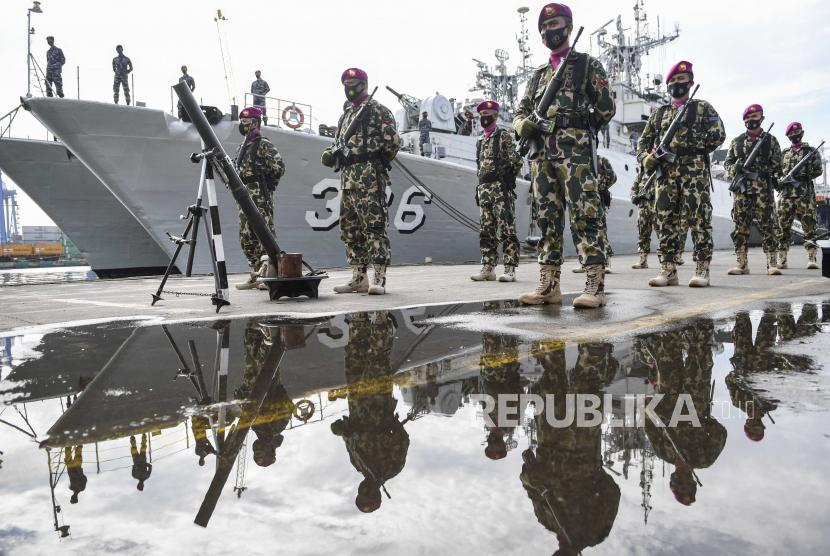 Ilustrasi prajurit TNI AL.