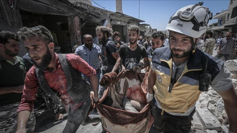 Lebih dari 350.000 orang tewas dalam konflik lebih dari 10 tahun di Suriah