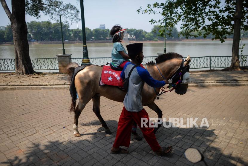 Wisata Berkuda Di Kota Pekanbaru Diminati Pengunjung Republika Online