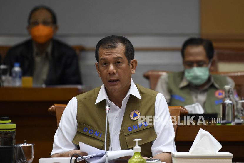 Kepala Badan Nasional Penanggulangan Bencana (BNPB) Letjen Doni Monardo.