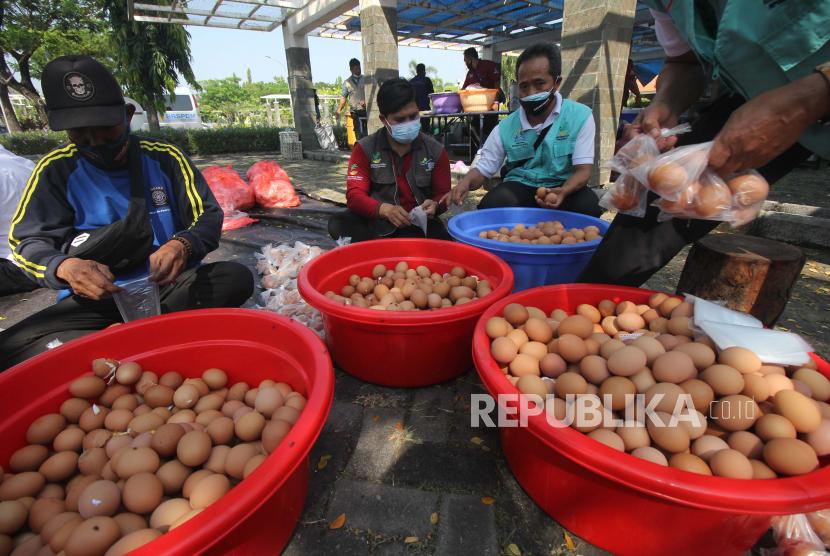 Dapur Umum di Sukabumi Pasok Telur Rebus ke Tenaga Kesehatan (ilustrasi).
